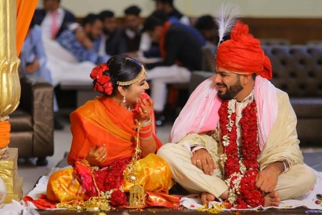 Punjabi wedding Niyati Abhishek wedus