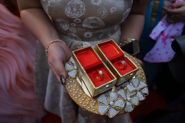 Engagement ring -wedus