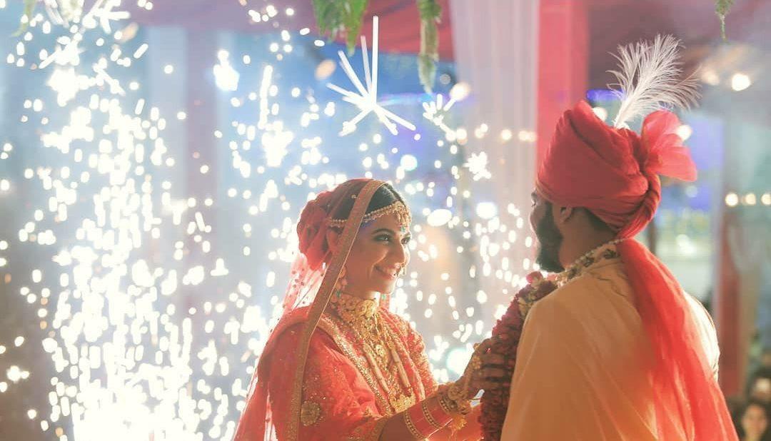 Niyati and Abhishek vermala wedus