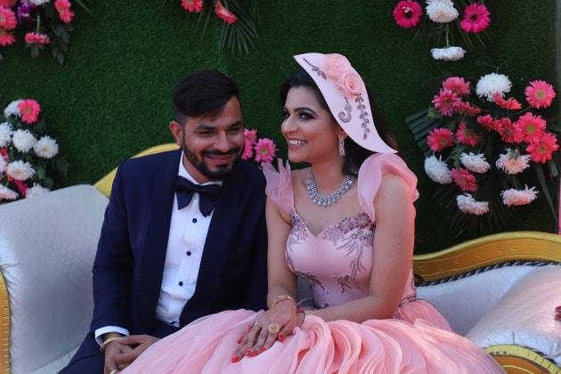 Niyati & Abhishek engagement